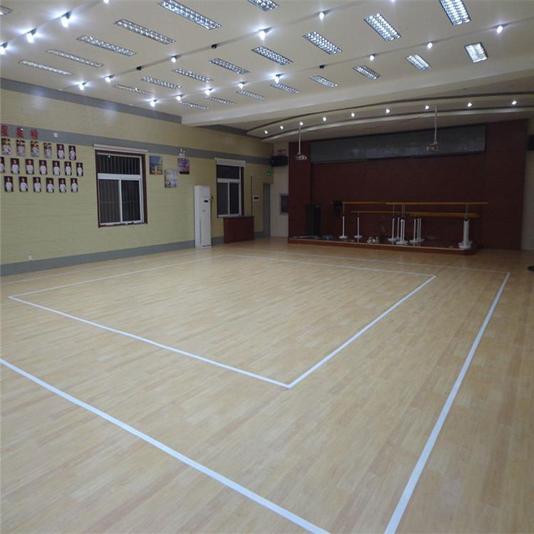 篮球馆运动木地板 羽毛球馆运动木地板 尚浩体育专业制造商 型号齐全