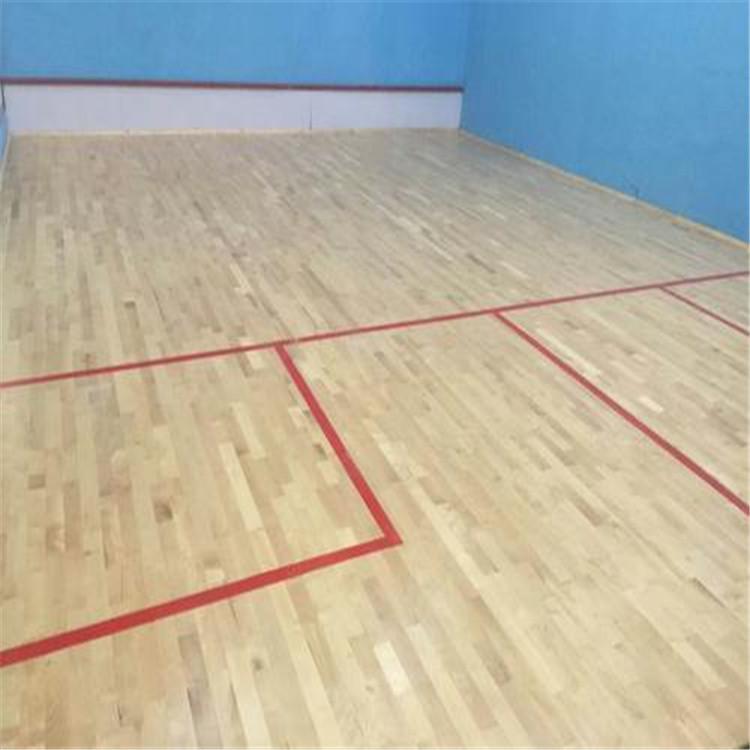室内运动木地板 体育专用运动木地板 尚浩体育产品安全可靠