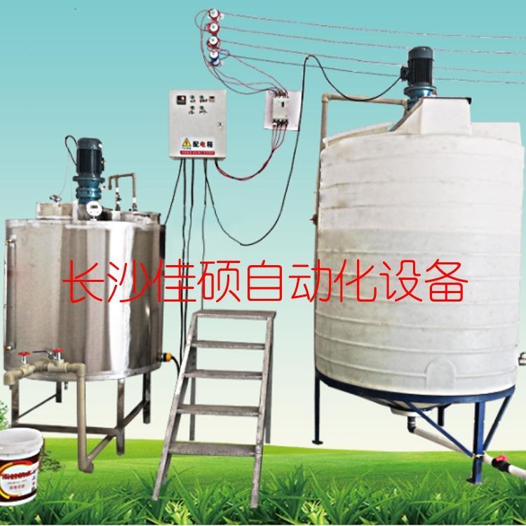 聚乙烯醇801胶水熬制设备 佳硕2020新型环保胶水设备