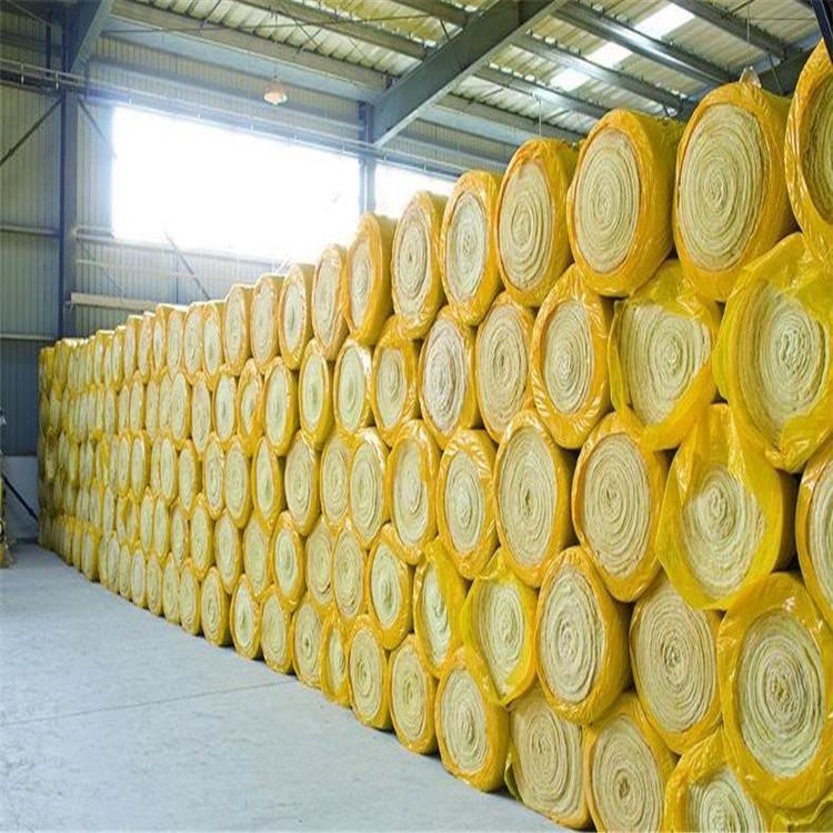 广西生产玻璃棉卷毡保温材料