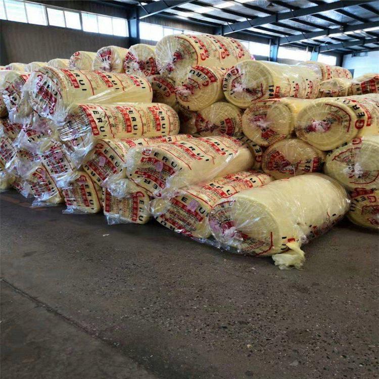 河南生产玻璃棉卷毡保温材料