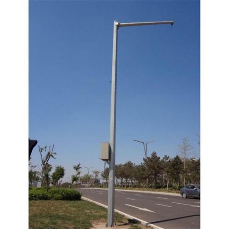 铜仁摄像机监控立杆太阳能灯杆可批发