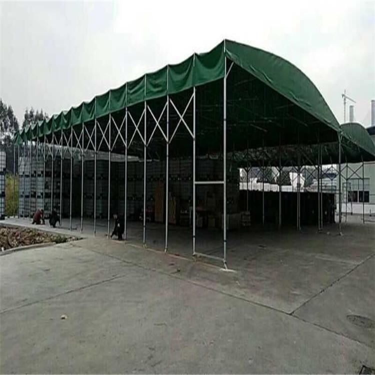 爆款施工帐篷 折叠推拉蓬 致高推拉雨棚制作 珠海澳门