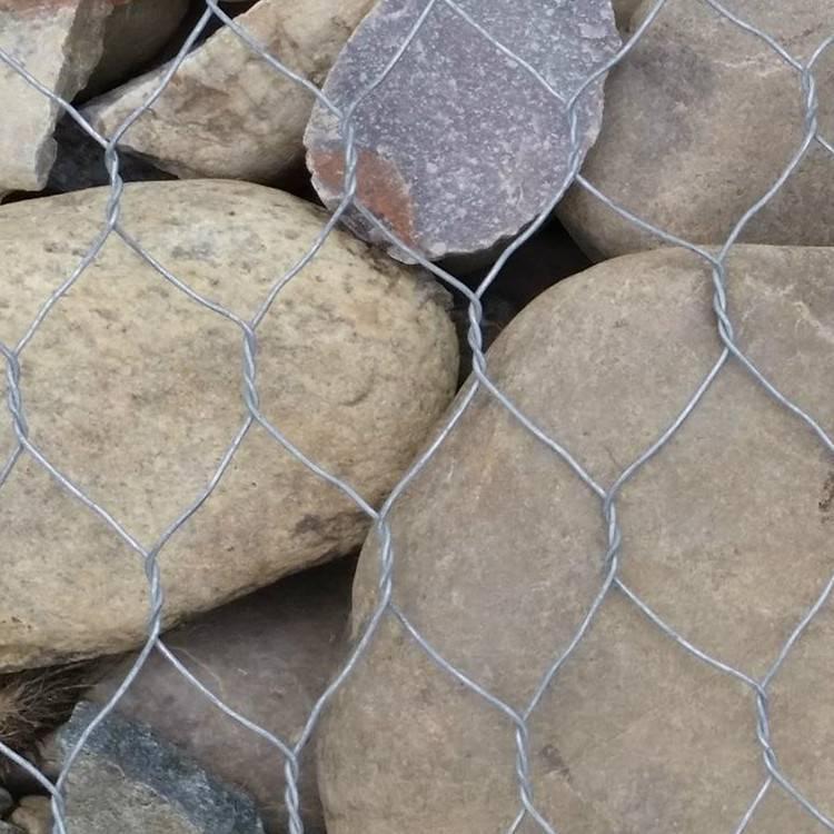 镀高尔凡石笼网 固滨笼 绿滨垫 石笼网护坡