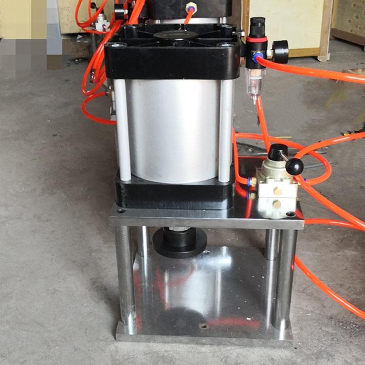 CP-90橡胶气动冲片机 哑铃裁刀冲片机 气动切边机制样机 省时省力