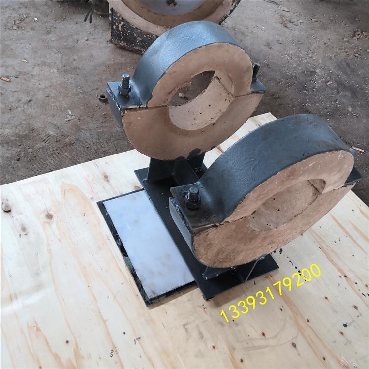 耀发架空隔热滑动管托 DN150成品滑动隔热管托 质优价廉 量大从优