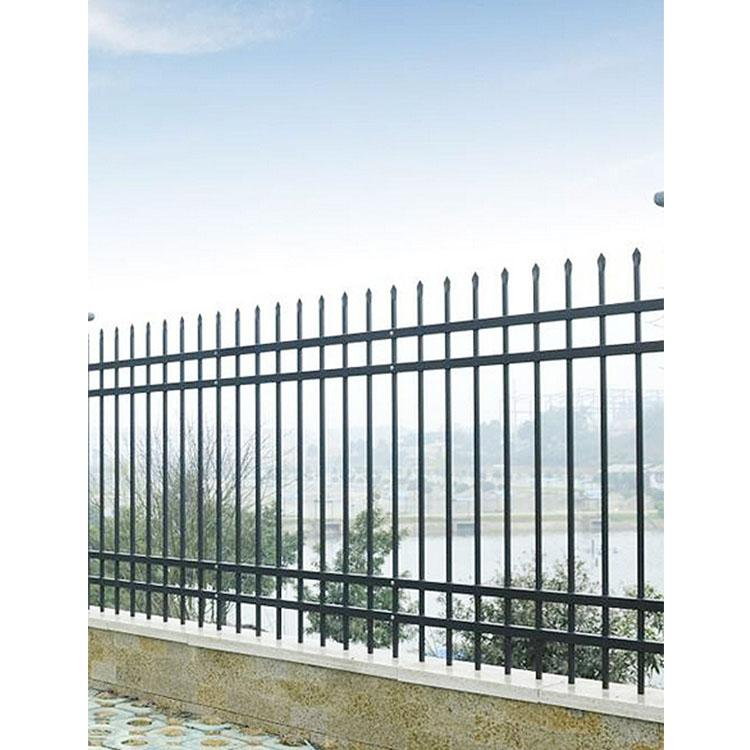 中辉供应 栅栏锌钢围墙 锌钢护栏 热镀锌钢护栏 锌钢栏杆生产厂家