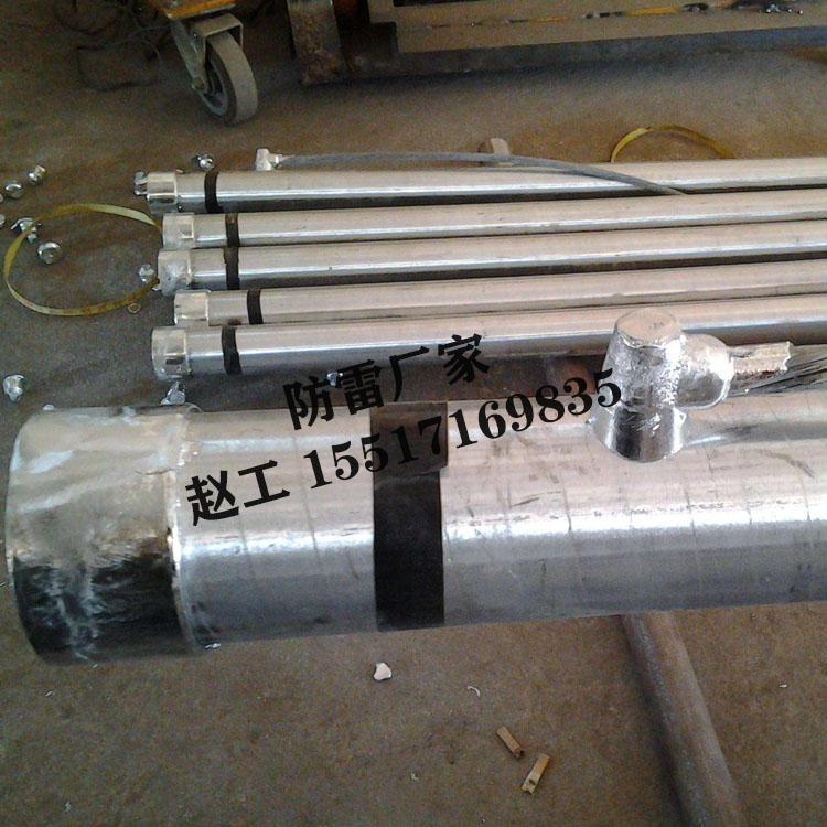 杭州防雷厂家 直径50mm不锈钢离子接地极 输电线塔接地极