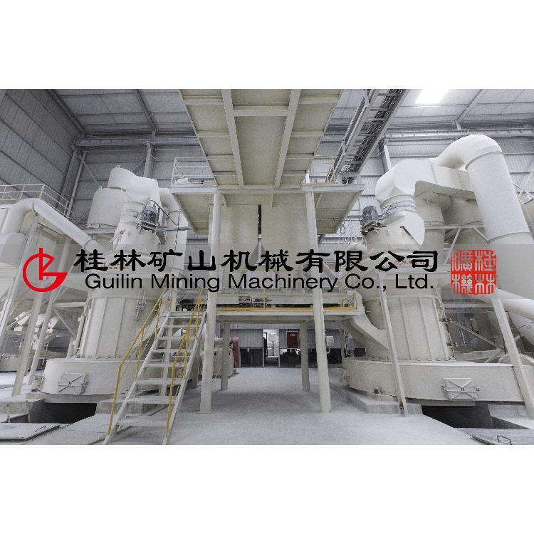 桂矿氧化钙生产线设备磨粉机