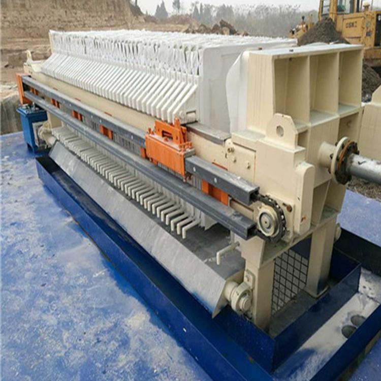 污泥压滤机压滤机 厢式压滤机压滤机 双源环保 过滤速度快_性价比高