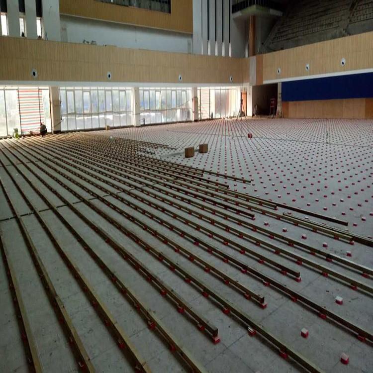 健身房木地板包工包料 乒乓球木地板现场安装