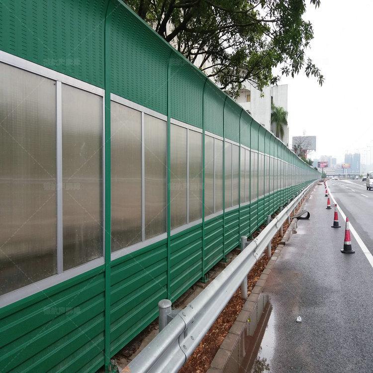 透明隔音墙-市政道路吸音板-小区隔音屏报价-空调机组声屏障-声屏障单价