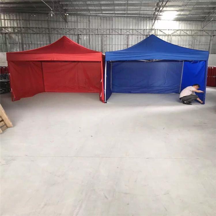 澳门户外广告帐篷珠海致高折叠帐篷一个人四角伞伞布三乘三白色