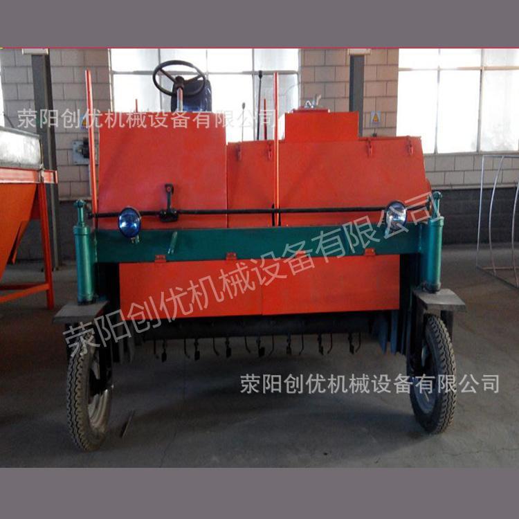 厂家直销行走式翻堆机 创优机械履带式翻堆机有机肥翻堆机肥料加工设备现货