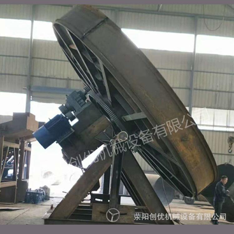 河南郑州猪鸡牛羊粪造粒机报价 创优机械有机肥生产线 圆盘造粒机价格