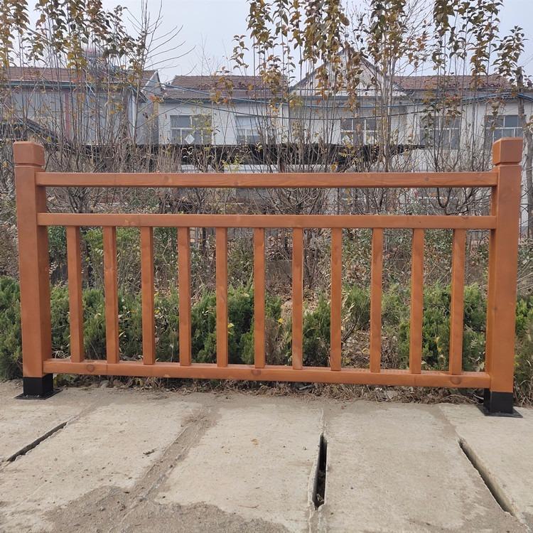 广润园艺 防腐木护栏 碳化木围栏 木栅栏 户外使用寿命20年以上
