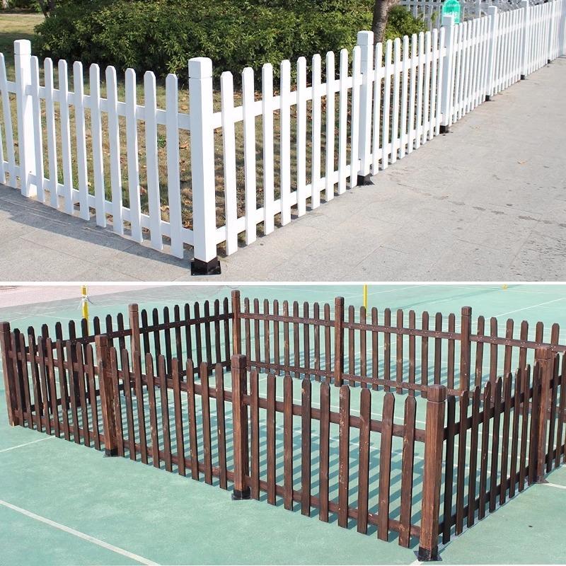 广润景观 木栅栏 防腐木栅栏 围栏 护栏 户外使用寿命20年以上