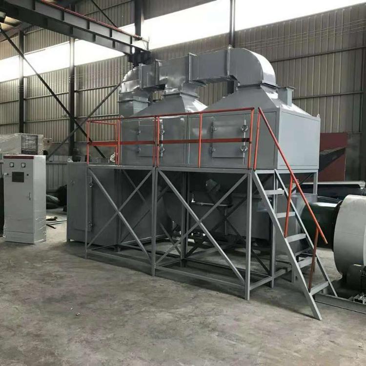 华睿新程支持定制催化燃烧环保设备废气处理ROC活性炭吸附脱附有机废气净化装置