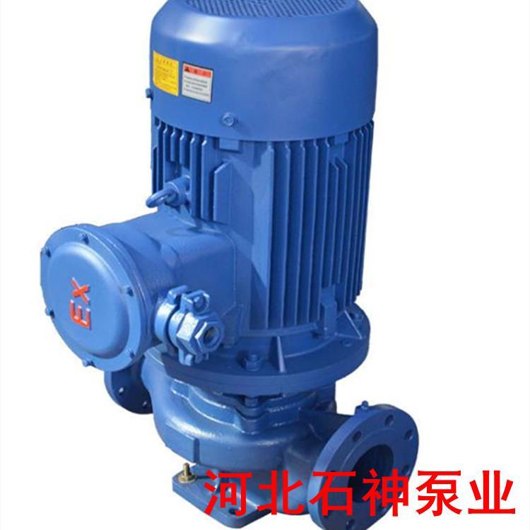 邢台ISG65-315(I)B景观湖水输送陆地泵石神热水循环管道泵ISG65-315(I)B安装图