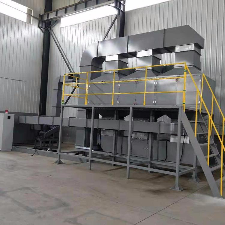 鹏龙现货销售催化燃烧设备 催化燃烧反应器 活性炭吸附装置 工业化工尾气处理