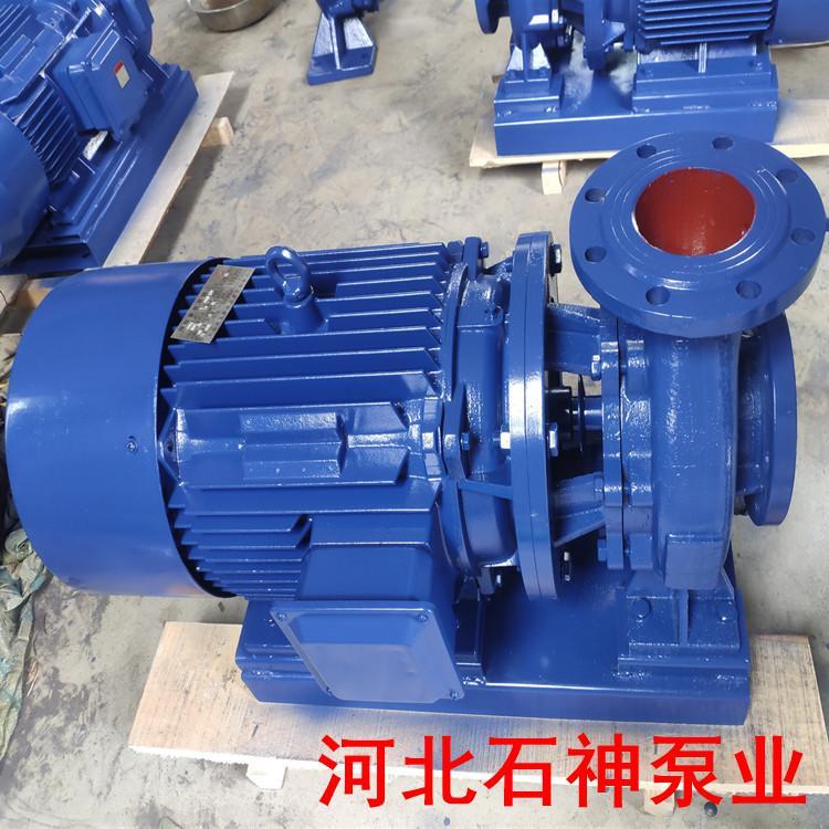 魏县ISG65-250(I)B管道加压泵石神热水循环管道泵ISG65-250(I)B投资低廉