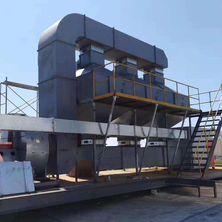 鹏龙厂家定制催化燃烧设备催化剂处理工业废气处理环保设备活性炭吸附蓄热装置