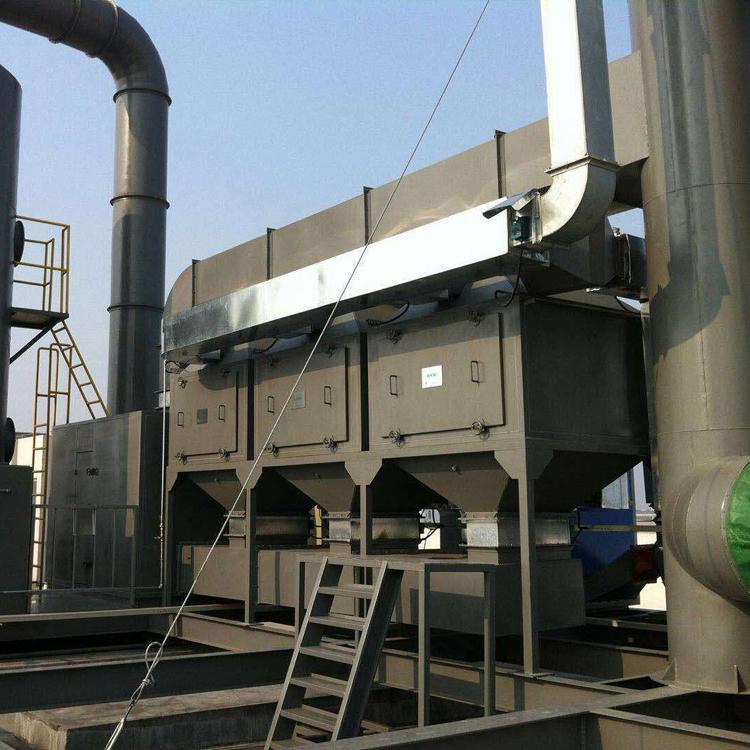 鹏龙支持定制催化燃烧环保设备RCO活性炭脱附吸附VOCS工业废气处理净化器装置