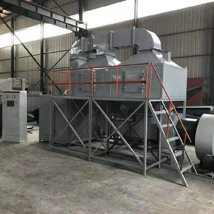 鹏龙现货销售催化燃烧设备Rco蓄热式活性炭吸附脱附有机废气处理净化器环保箱