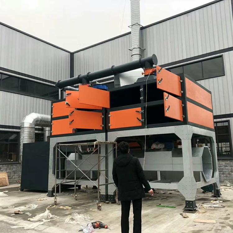 鹏龙现货销售废气环保处理净化蓄热装置VOC工业废气催化燃烧设备RCO环保设备