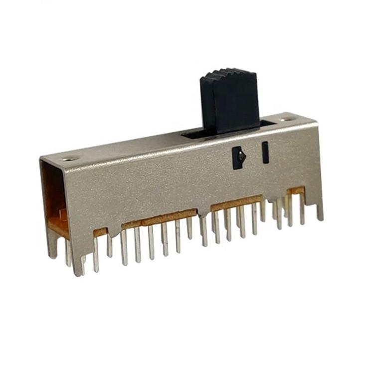 厂家热销拨动玩具电子滑动档位波段安全小家电开关 留声机开关SS-64D01