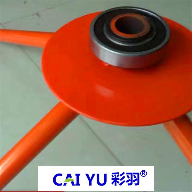 厂家批发彩羽轴承地暖放管器 放管器价格 地暖加强型放管器 地暖放管支架 价格优惠 施工更便捷