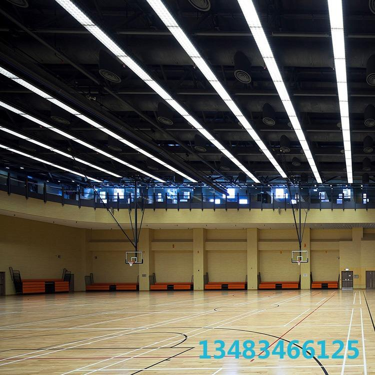 明都体育 厂家定制篮球场木地板 羽毛球木地板 直销产品