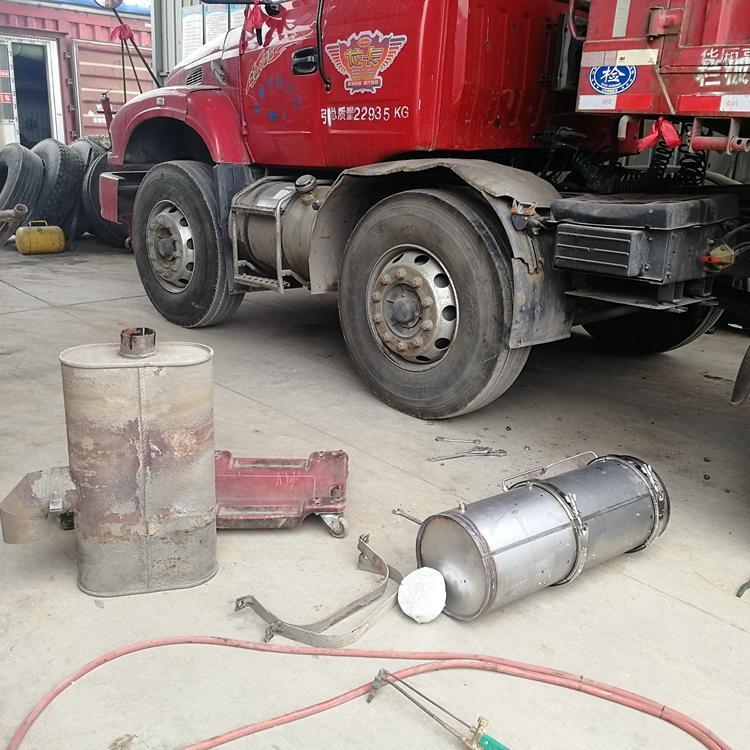 山东绿昊环保柴油车尾气净化器-尾气后处理装置 -环保绿标-检测保过-带合格证检测报告