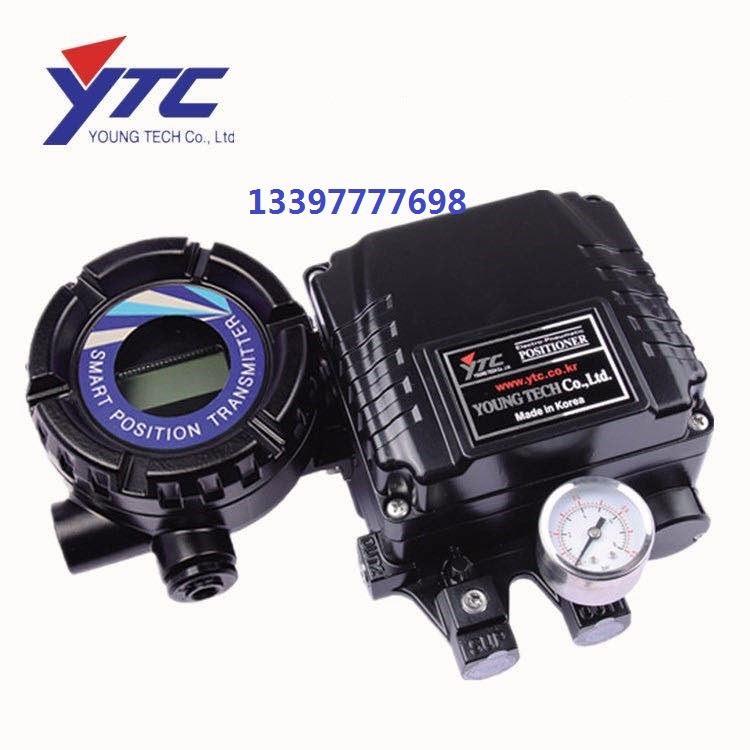 广西YTC韩国永泰智能阀门定位器 YT-1000L 智能型阀门定位器