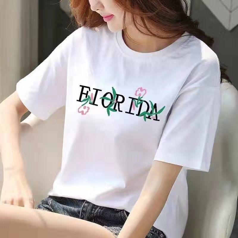 几块钱纯棉白色短袖t恤女新款夏季韩版学生宽松大码半袖上衣