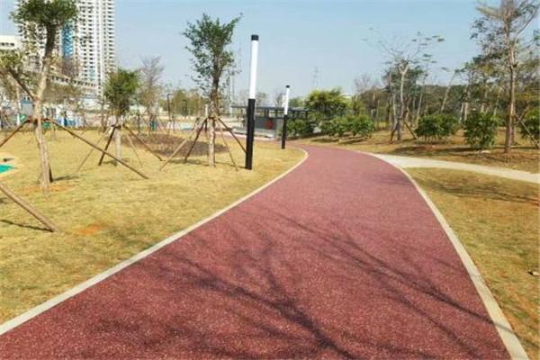 广东省mma彩色防滑路面施工方案