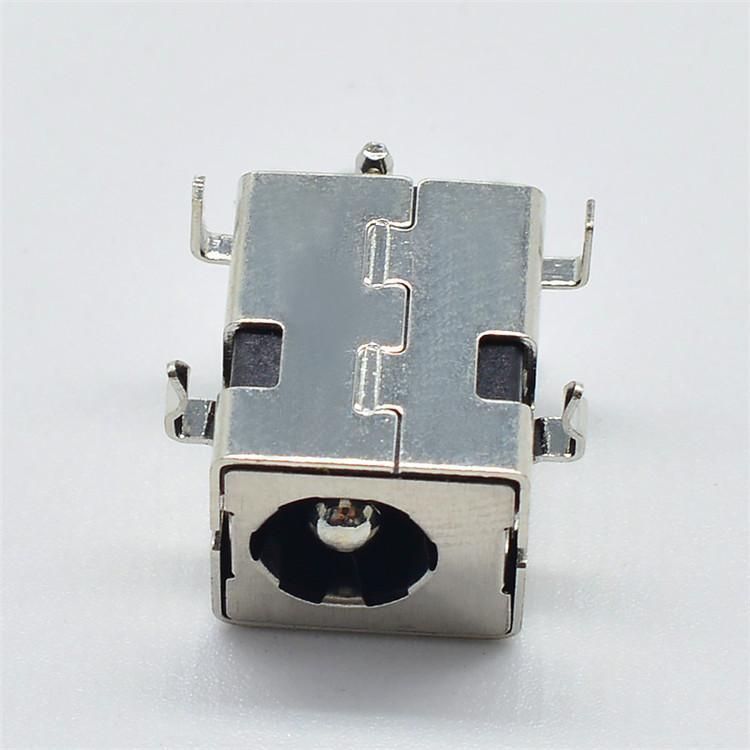供应环保耐温沉板DC电源插座 DDC-511音频充电插件直流电源插座批发