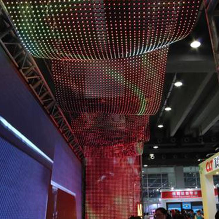淄博led透明屏 广告led透明屏 全彩led透明屏安装元和丰