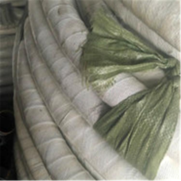 厂家供应外包石棉胶管 绝缘夹布阻燃胶管 耐热橡胶管 防火阻燃石棉胶管