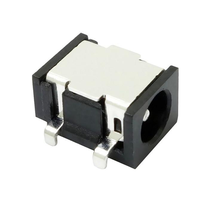 志顺 3.5*1.3沉板电源3.5DC插座 沉板0.9 破板式电源母座插口插座
