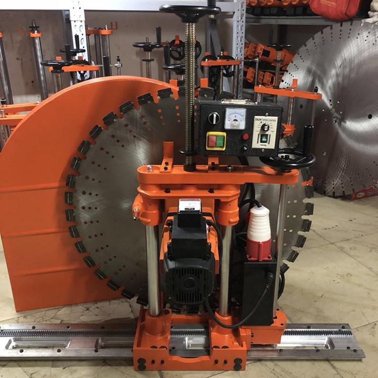 路邦机械1000半自动墙壁切割机带导轨的墙壁切割机生产厂家