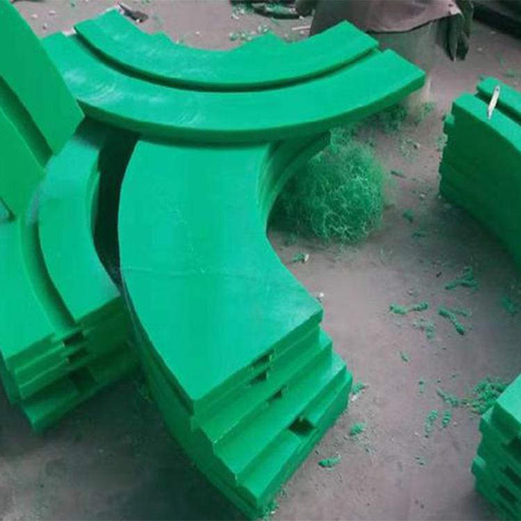 恒德河北注塑厂家订制滑块 耐磨尼龙块 尼龙滑道