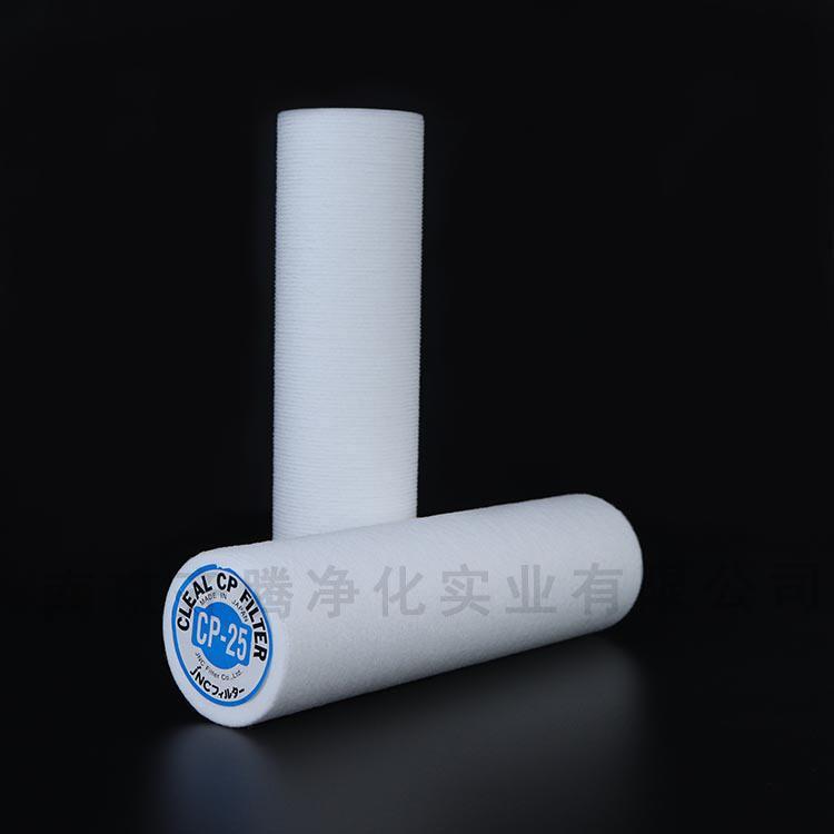 聚酯过滤芯ISO认证水处理进口滤芯品牌齐腾