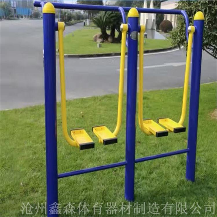 单人双人漫步机 鑫森体育 户外健身器材 室外健身路径