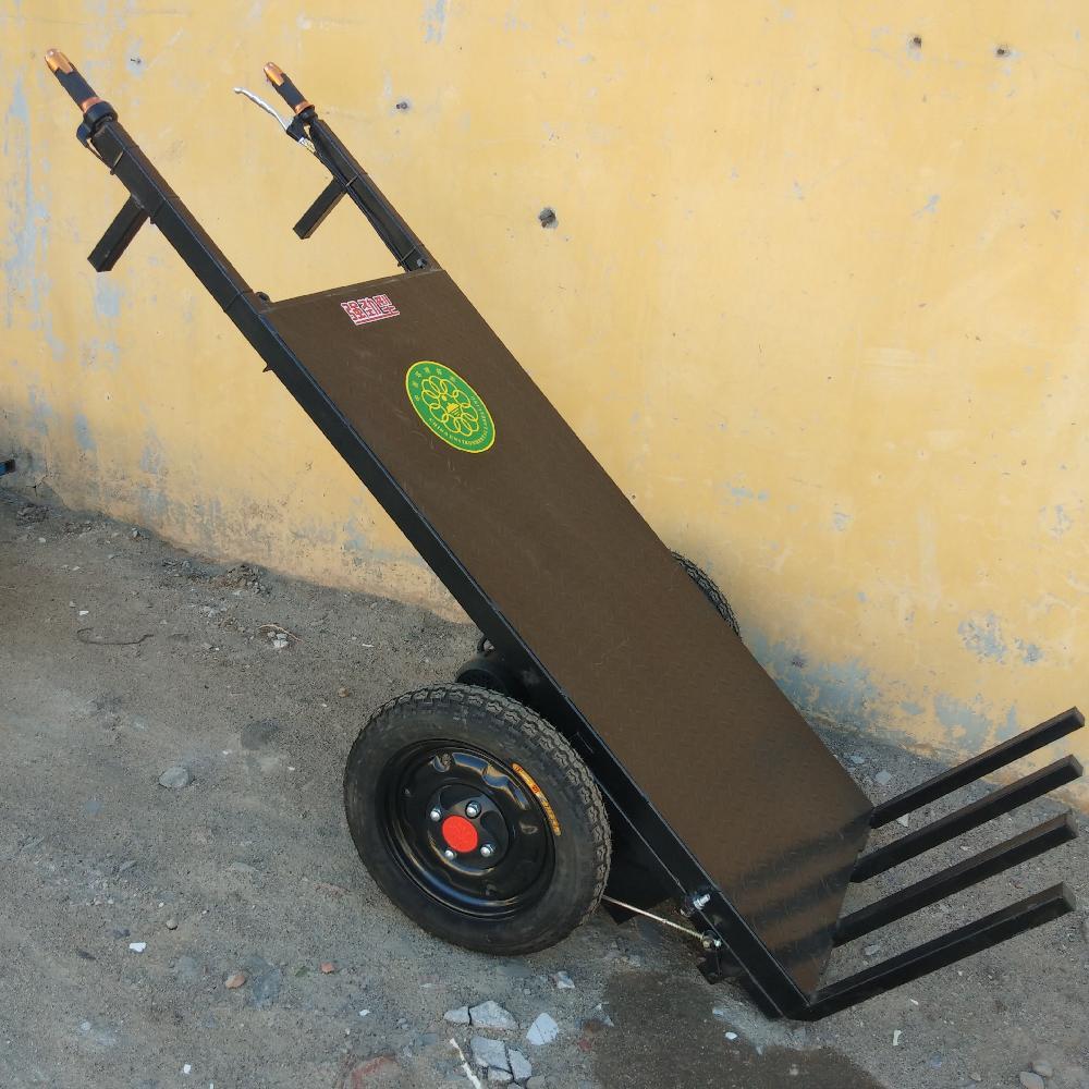 协丰机械 建筑工地电动运砖车 工地拉砖车价格 电动平板拉砖车厂家