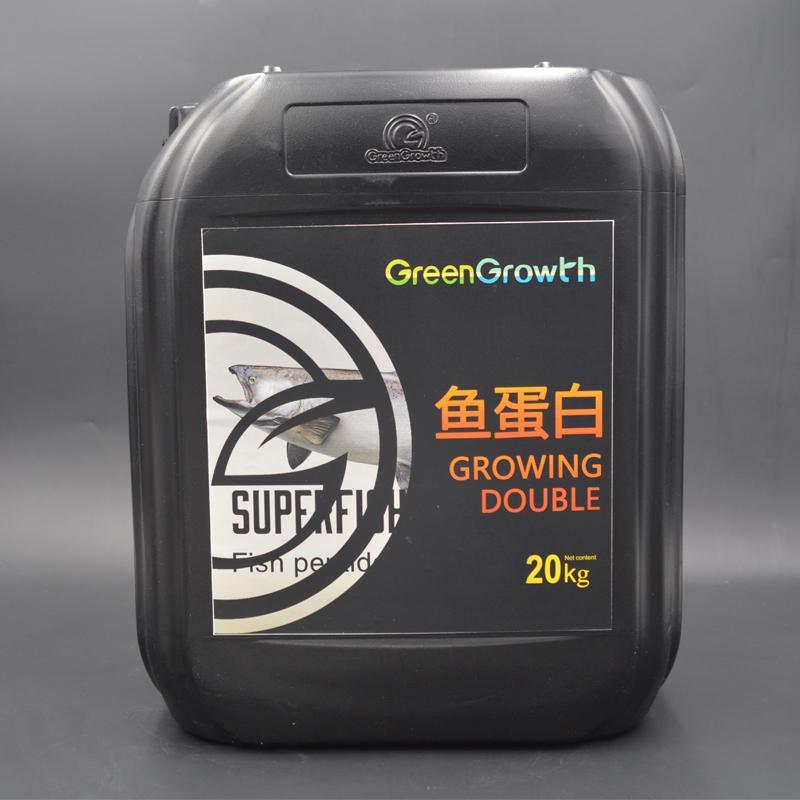 Green Growth进口桶装液体水溶肥 氨基酸有机水溶肥 改良土壤生根壮苗生物有机液体冲施肥料