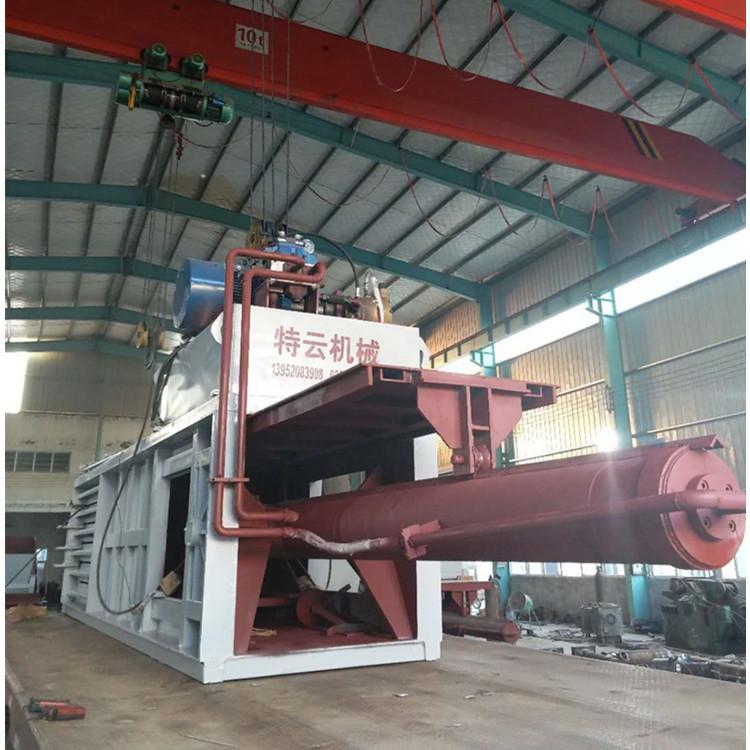 南京特云机械生产全自动废纸打包机 卧式打包机定制厂家