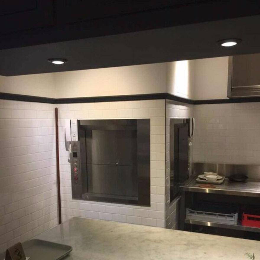 量身定做厨房升降梯 落地式传菜机 启运秦皇岛市传菜机规格安装