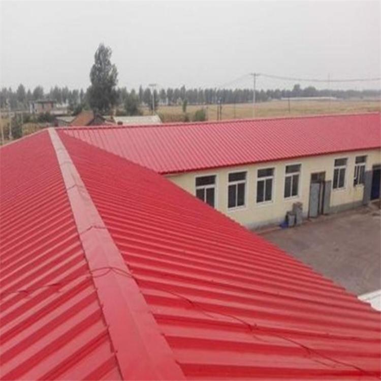 高光彩钢瓦水性防锈漆 彩钢板翻新专用防腐涂料 丙烯酸水性彩钢瓦翻新漆 钢结构施工