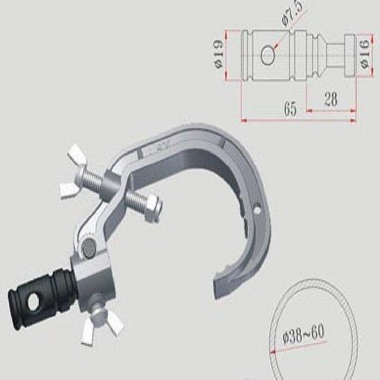 耀诺批发各种演播室舞台灯具吊挂灯钩 质量可靠